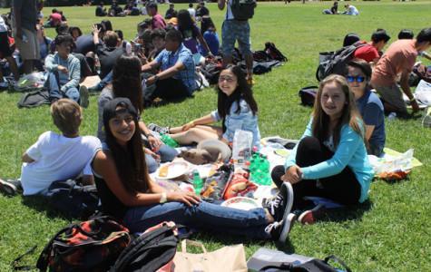 8th grade picnic!