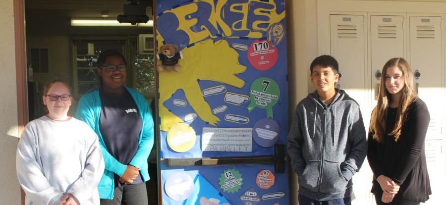 College Door Decorating Contest