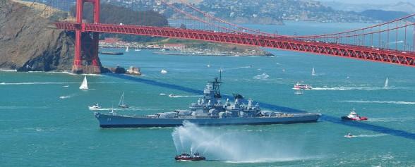 All Aboard The USS IOWA!