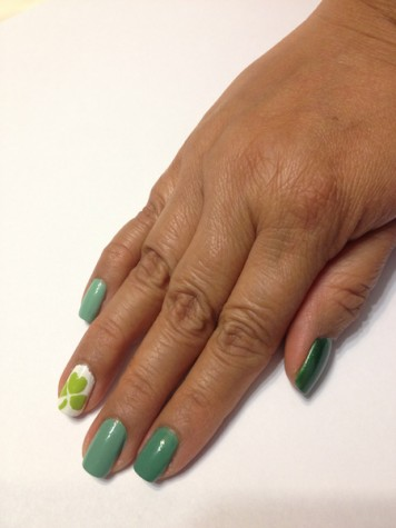 St. Patrick's Day Nails!